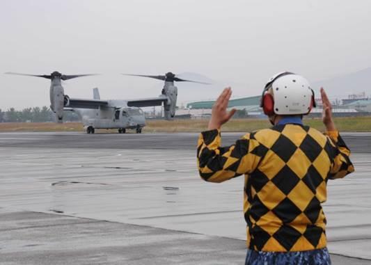 海自・大村航空基地でオスプレイと共同訓練: 小牧基地を撮りに行こう!!